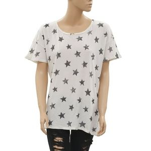 Denim & Supply Ralph Lauren Star Printed  Top L